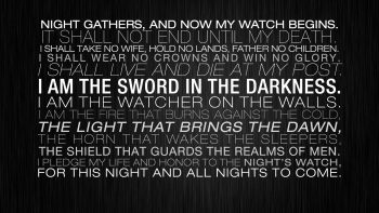 Light Honor Walls Night Guards Father Game Of Thrones Death Live Sword Glory