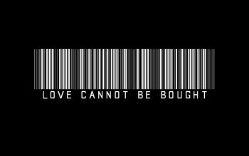 Love Bought Bw Barcode Black Neat Image For Free