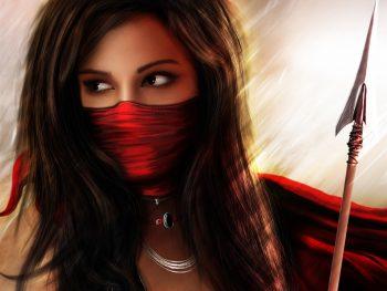 Manipulations Cg Digital Art Art Fantasy Warriors Spear Weapons