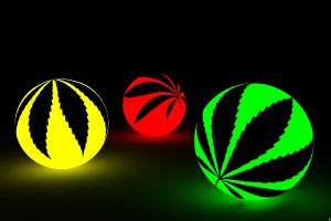Marijuana Weed Ganja Ew Colorful Photograph Free Get