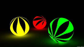 Marijuana Weed Ganja Ew Colorful Photograph Free Get