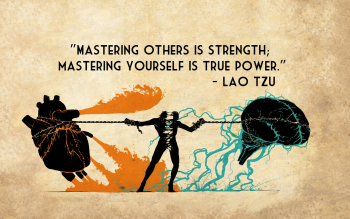 Mastering Strength True Power Lao Tzu Quotes Texts Brain Heart Chains Neat Image For Free