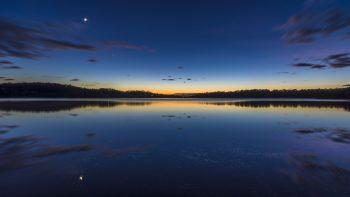 Nature Lake Sunset Landscape Ultrahd Wide Range Photograph Get Neat Image For Free