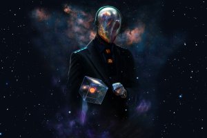 Outer Space Futuristic Galaxies Suit Spaceman Artwork Alien Neat Image For Free
