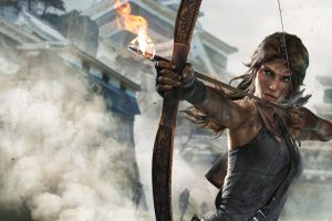 Rise Tomb Raider Lara Croft Action Adventure Fantasy Warrior