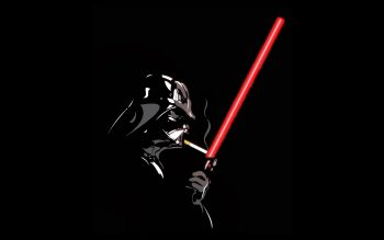 Smoking Star Wars Lightsabers Darth Vader Cigarettes Black Background Neat Image For Free