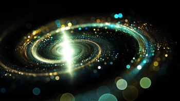Spiral Bokeh Light