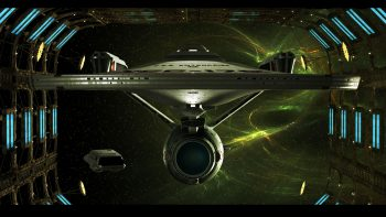 Star Trek Starship Enterprise Spaceship Space Dock