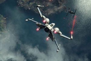 Star Wars Force Awakens Science Fiction Futuristic Disney Wars Force Awakens Action Adventure Spaceship Battle