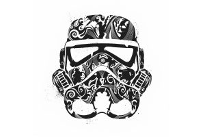 Star Wars Minimalistic Stormtroopers Artwork Neat Image For Free