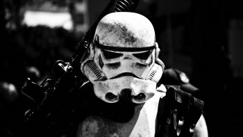Star Wars Stormtrooper Bw