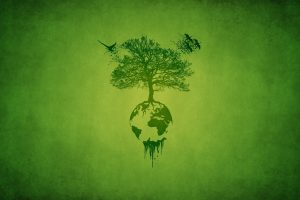 Trees Artistic Earth Digital Art Ecosystem Neat Image For Free