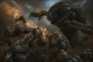 Trejoeeee Deviantart Com Fantasy Warriors Soldiers Knights Armor Ogre Goblin Monsters Creatures
