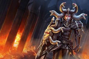Vainglory Moba Online Fighting Fantasy Warrior Action Image
