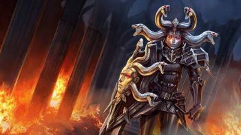 Vainglory Moba Online Fighting Fantasy Warrior Action Image