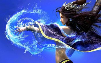 Witch Fantasy Art Asian Oriental Magic Spell Women Females Girls Neat Image For Free
