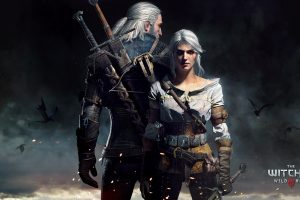 Witcher 3 Wild Hunt Fantasy Action Rpg Fighting Warrior Dark Three