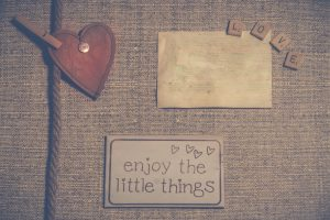 Vintage Enjoy The Little Things